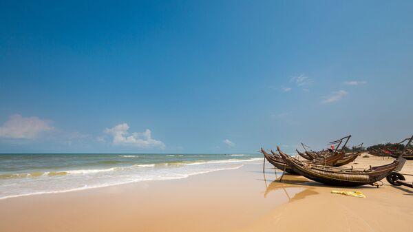 Пляж Bien My Thuy во Вьетнаме  - Sputnik Việt Nam