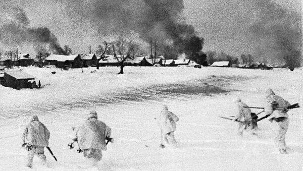 Hồng Quân Liên Xô ở ngoại ô Moskva - Sputnik Việt Nam