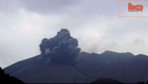 Núi lửa Sakurajima ở Nhật Bản - Sputnik Việt Nam