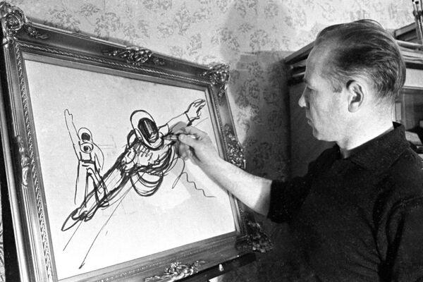 Sở thích cá nhân của Alexei Leonov là hội họa - Sputnik Việt Nam
