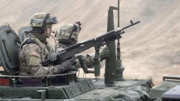 Lính Mỹ trong khuôn khổ chiến dịch NATO - Sputnik Việt Nam