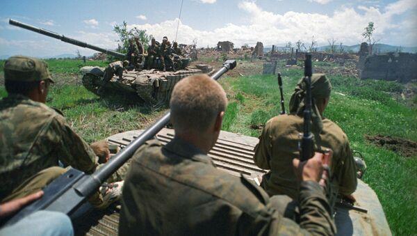 Quân  sĩ Nga tại Cộng hòa Chechnya - Sputnik Việt Nam
