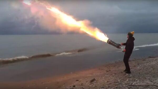 Khẩu súng bắn pháo hoa - Sputnik Việt Nam