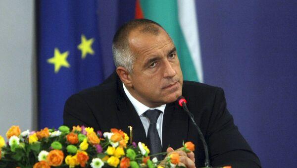 Thủ tướng  Bulgaria Boyko Borisov - Sputnik Việt Nam