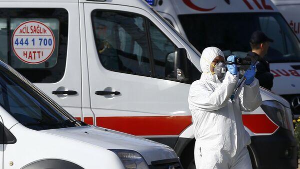 Vụ nổ  ở  Istanbul - Sputnik Việt Nam