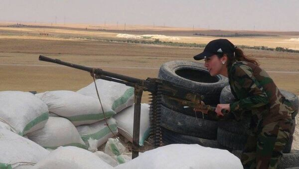 Nữ chiến binh Syria - Sputnik Việt Nam