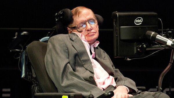 Giáo sư Stephen Hawking - Sputnik Việt Nam