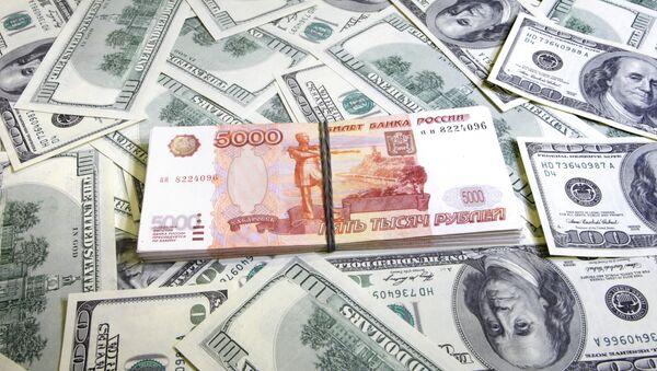 Tiền rub và tiền đôla - Sputnik Việt Nam