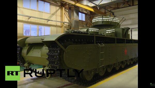 Quái vật thiết giáp của Liên Xô - Sputnik Việt Nam