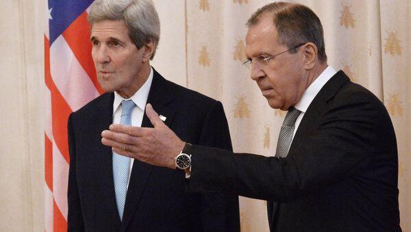 Sergei Lavrov và John Kerry - Sputnik Việt Nam