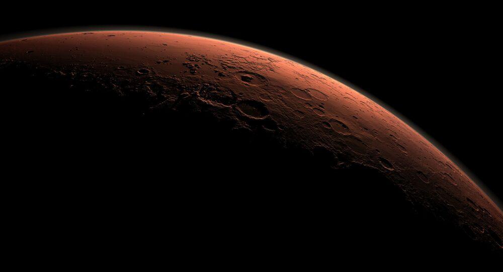 Sao Hỏa lúc bình minh