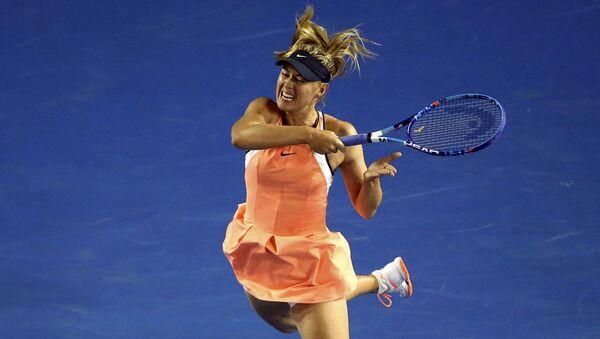 Maria Sharapova tại giải quần vợt Úc mở rộng, Melbourne. - Sputnik Việt Nam