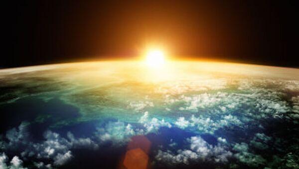Trái Đất lúc hoàng hôn - Sputnik Việt Nam