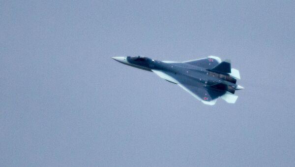 Máy bay chiến đấu T-50 - Sputnik Việt Nam