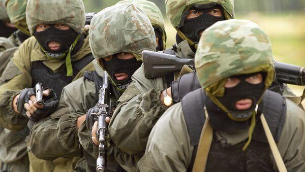 Diễn tập của các đơn vị thuộc lực lượng đặc biệt và tình báo - Sputnik Việt Nam
