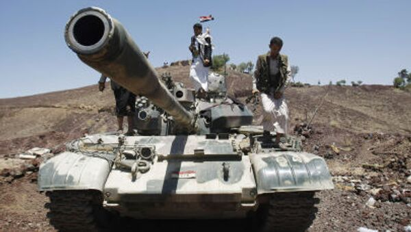 Chiến binh Shiite tại Yemen - Sputnik Việt Nam