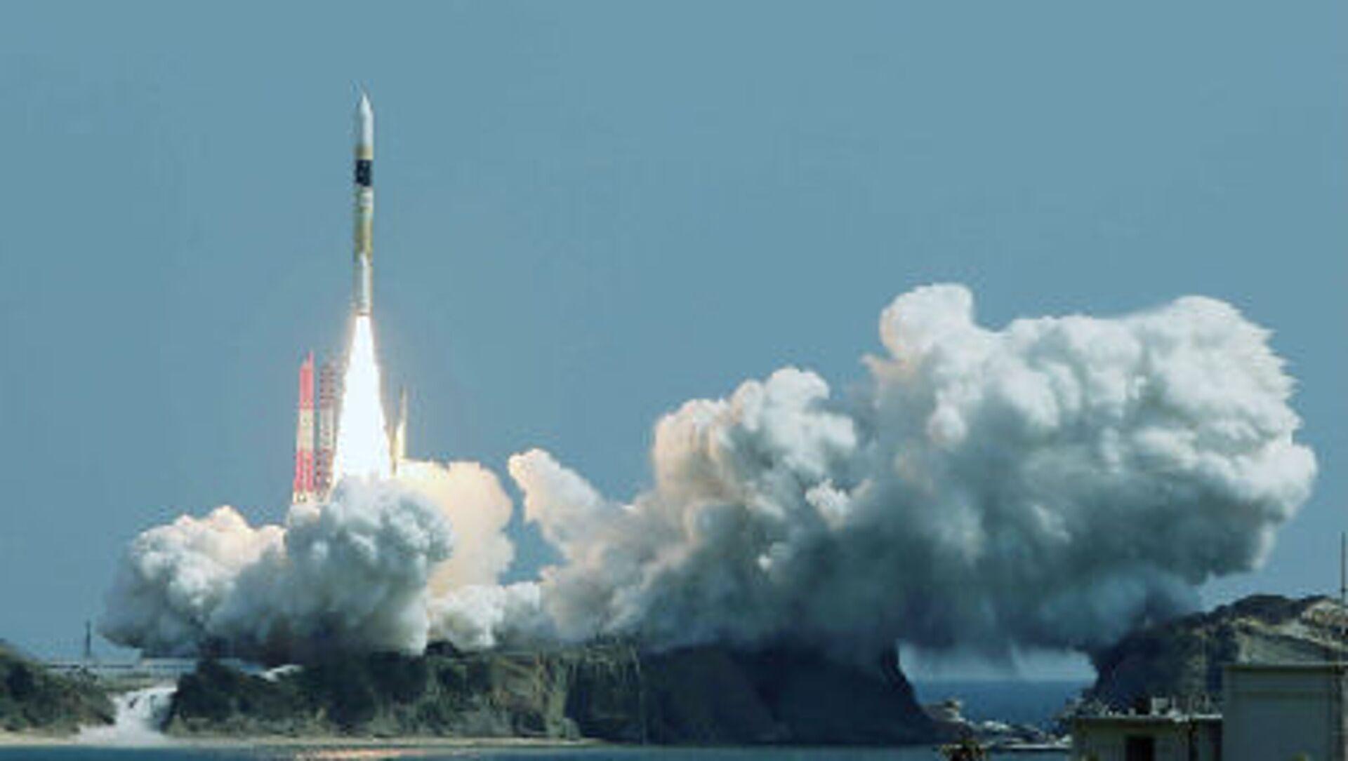 Tên lửa H-2A ở Trung tâm Vũ trụ Tanegashima - Sputnik Việt Nam, 1920, 12.05.2021