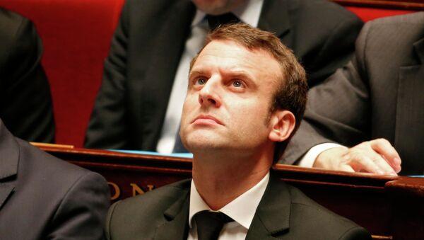 Ông Emmanuel Macron, Bộ trưởng Kinh tế, Công nghiệp và Kỹ thuật số của Pháp - Sputnik Việt Nam