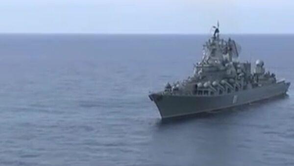 Tuần dương hạm Varyag trực chiến ở Syria - Sputnik Việt Nam