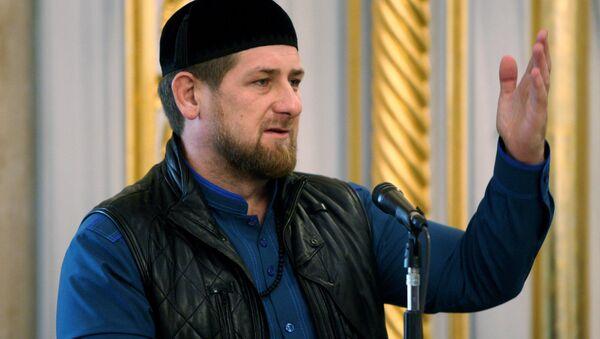 Người đứng đầu Chechnya Ramzan Kadyrov - Sputnik Việt Nam