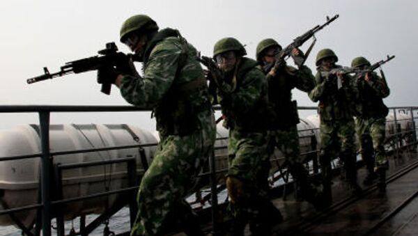 Thủy quân lục chiến Nga  - Sputnik Việt Nam