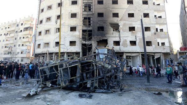 Những hậu quả của vụ khủng bố tại Syria - Sputnik Việt Nam