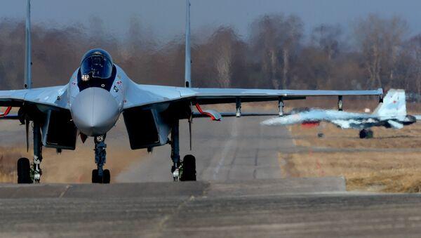Сhiến đấu cơ hiện đại nhất  Su-35S - Sputnik Việt Nam