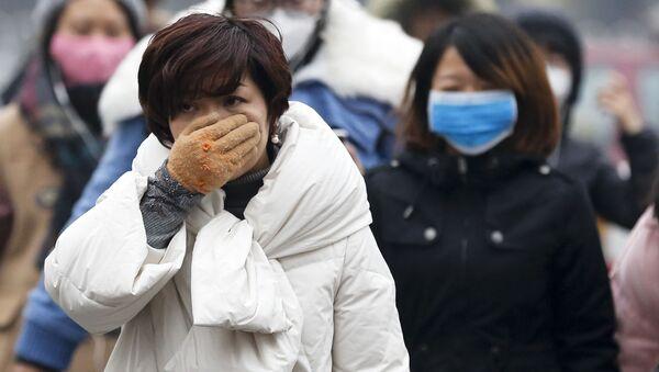 Ô nhiễm không khí tại Bắc Kinh  - Sputnik Việt Nam