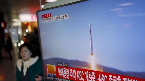 Vụ thử tên lửa ở Bắc Triều Tiên - Sputnik Việt Nam