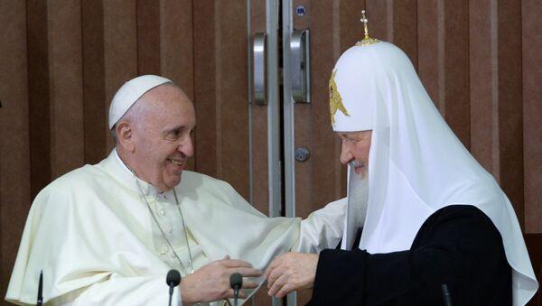 Đức Thánh Cha và Đức Thượng Phụ Kirill - Sputnik Việt Nam