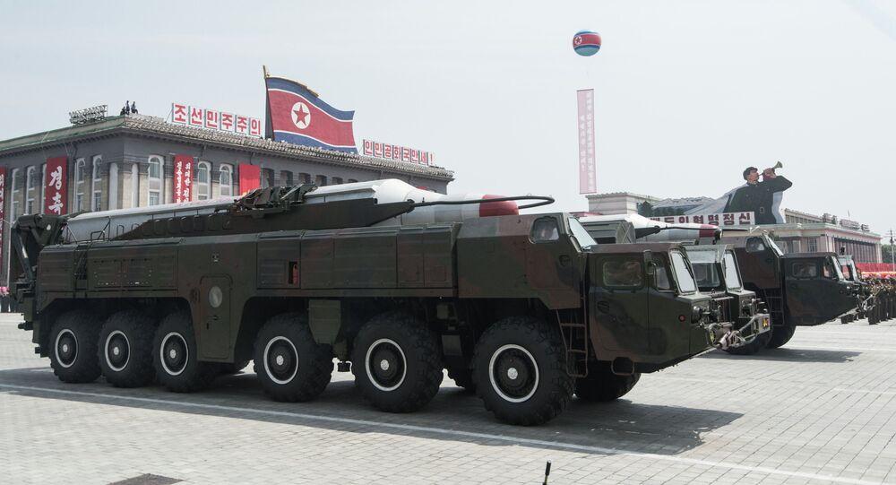 Tên lửa Bắc Triều Tiên  tại cuộc diễu hành
