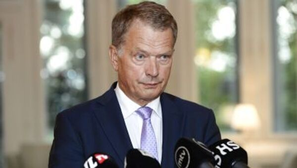 Tổng thống Phần Lan Sauli Niyniste - Sputnik Việt Nam