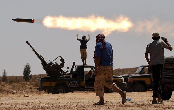 Biểu tình chống Chính phủ tại thành phố Surt ở Libya - Sputnik Việt Nam