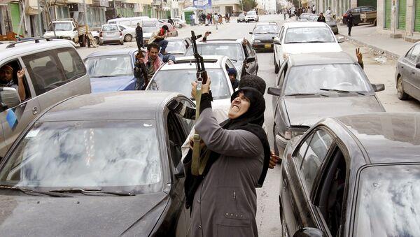 Biểu tình ở Benghazi, năm 2011 - Sputnik Việt Nam