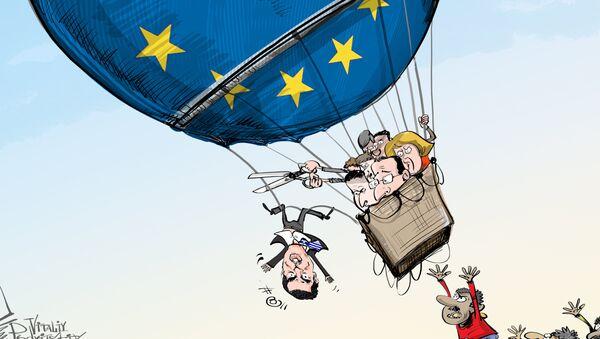 Liên minh châu Âu đe dọa loại Hy Lạp khỏi khu vực Schengen - Sputnik Việt Nam