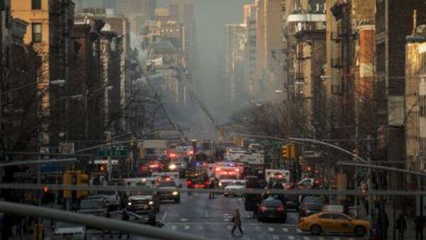 Phá hủy ba tòa nhà tại trung tâm New York - Sputnik Việt Nam