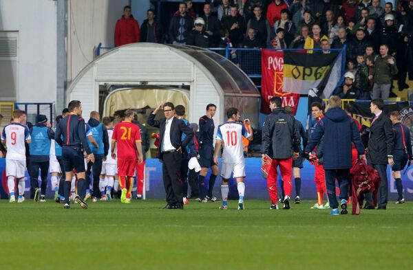 Huấn luyện viên Fabio Capello ở vòng đấu loại Giải vô địch bóng đá châu Âu 2016 giữa đội tuyển quốc gia Montenegro và Nga - Sputnik Việt Nam