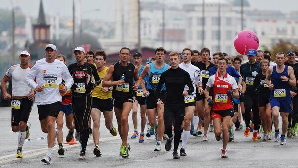 Các thành viên  tham gia Marathon Matxcơva - Sputnik Việt Nam