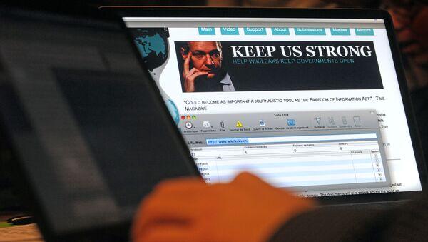Trang web WikiLeaks - Sputnik Việt Nam