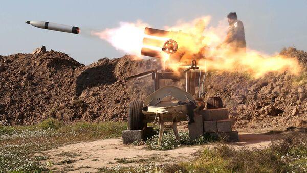 Nã pháo ở đông bắc Iraq - Sputnik Việt Nam
