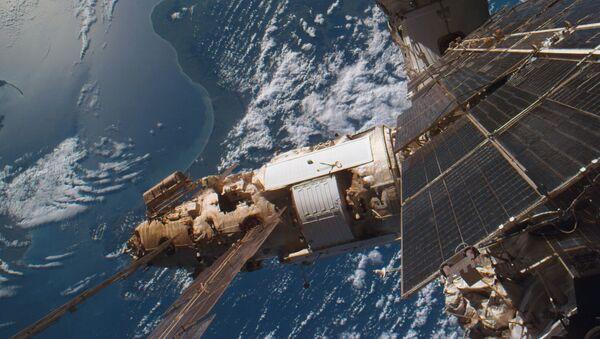 """Modul Spektr"""" ghép nối với Trạm quỹ đạo """"Mir"""" - Sputnik Việt Nam"""