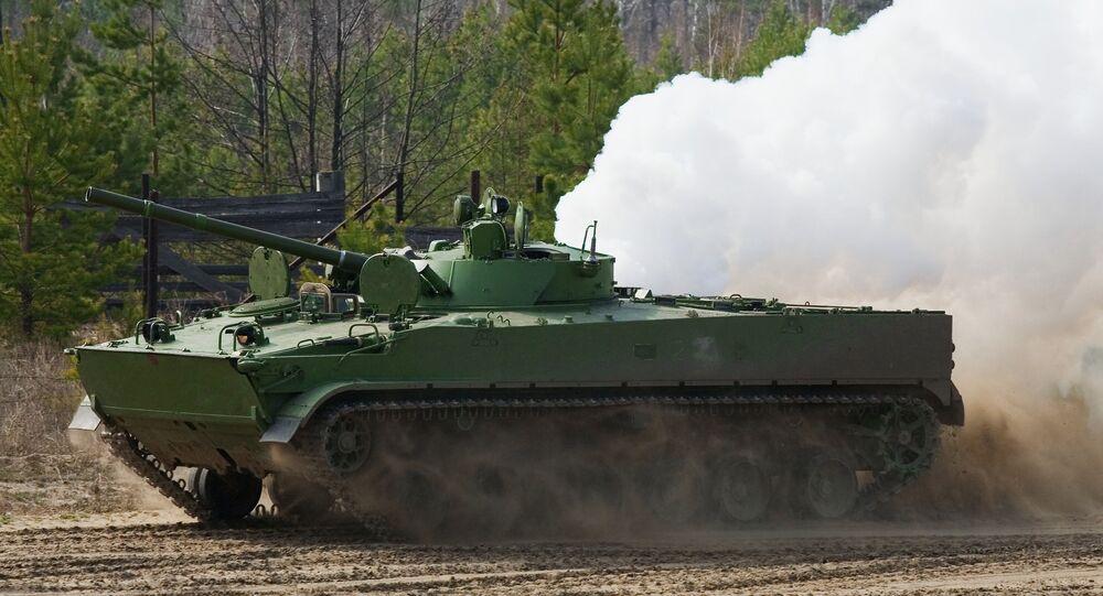 Xe bọc thép BMP-3
