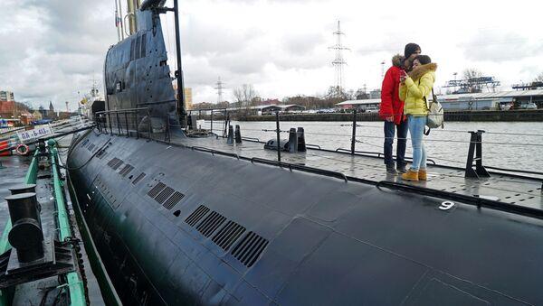 Tàu ngầm B-413 tại Bảo tàng Đại dương thế giới ở Kaliningrad - Sputnik Việt Nam