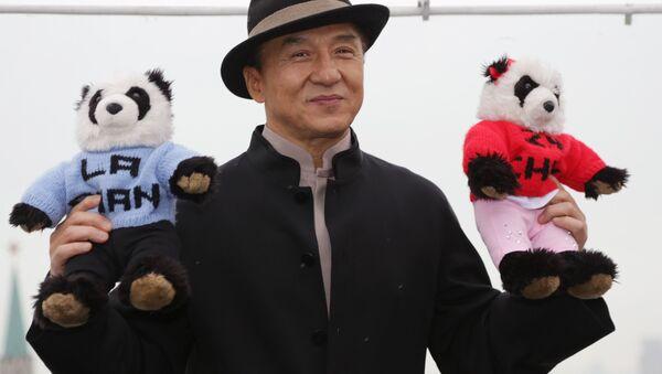 Siêu sao Jackie Chan tại Moskva - Sputnik Việt Nam