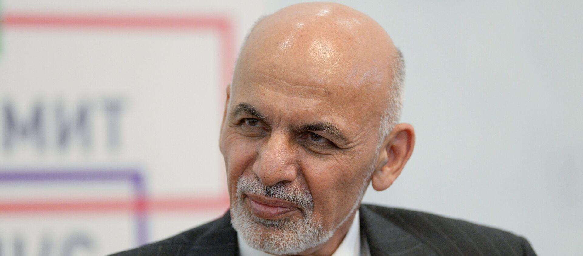 Tổng thống Afghanistan Ashraf Ghani  - Sputnik Việt Nam, 1920, 19.08.2021