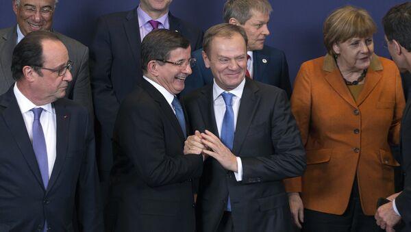 Hội nghị thượng đỉnh EU-Thổ Nhĩ Kỳ - Sputnik Việt Nam