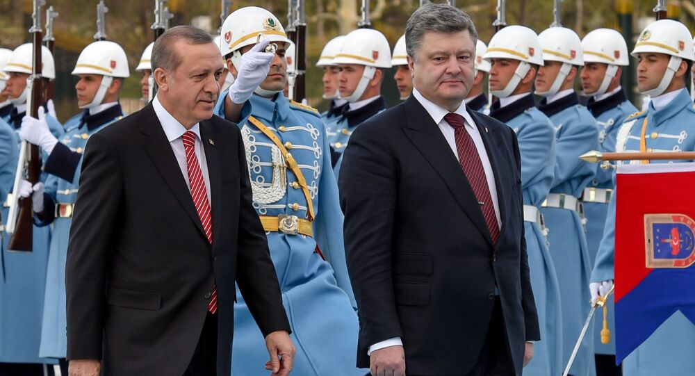 Recep Tayyip Erdogan và Petro Poroshenko