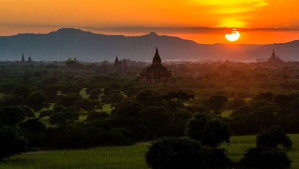 Hoàng hôn ở Myanmar - Sputnik Việt Nam
