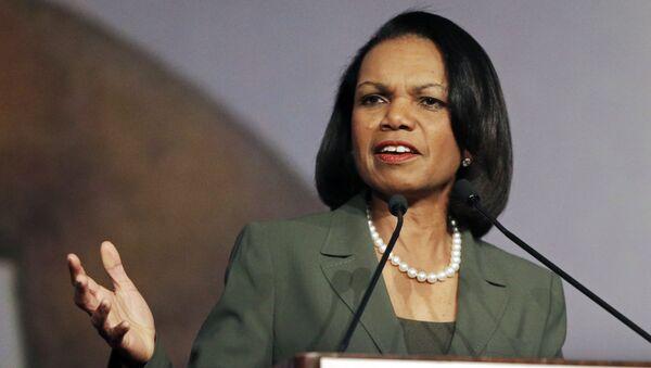 Сựu Ngoại trưởng Hoa Kỳ  Condoleezza Rice - Sputnik Việt Nam