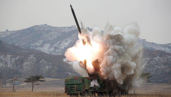 Cuộc phóng tên lửa đạn đạo của Bắc Triều Tiên - Sputnik Việt Nam